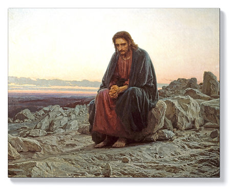Иван Крамской – Христос в пустинята