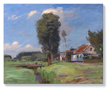 Александър Кьостер – Канал в Холандия