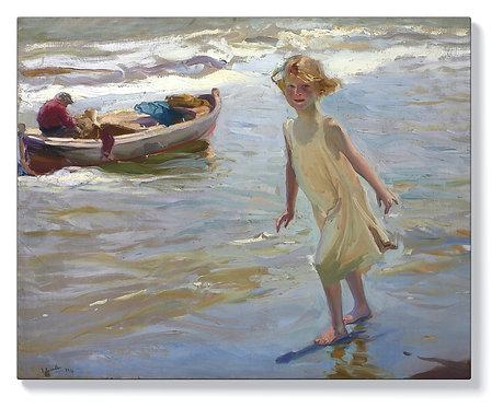 Хоакин Сорола – Момиче на плажа