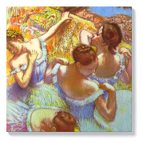 Едгар Дега - Танцьорки в синьо