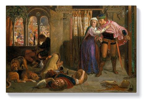 Уилям Хънт - В навечерието на Свети Агнес