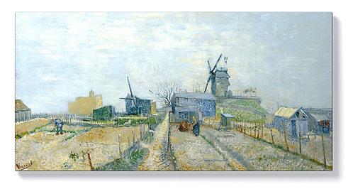 Ван Гог - Монмартър, мелници и зеленчукови градини