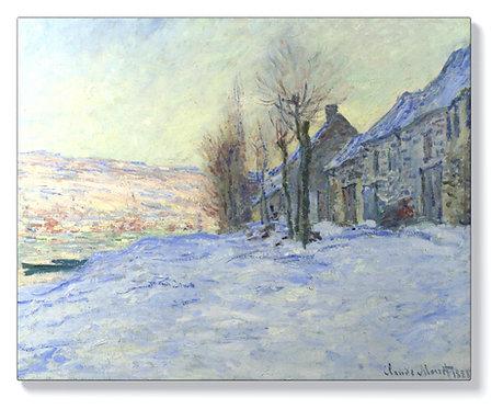 Клод Моне – Лавакур, слънце и сняг