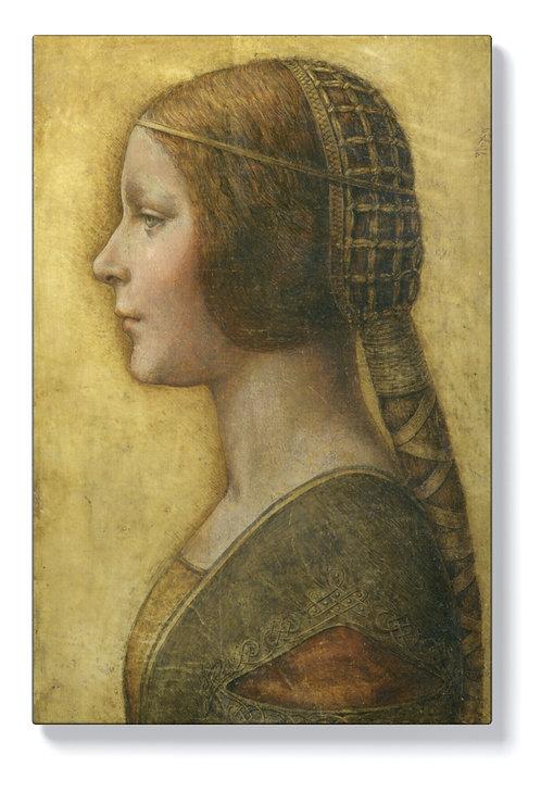 Леонардо да Винчи – Профил на млада годеница