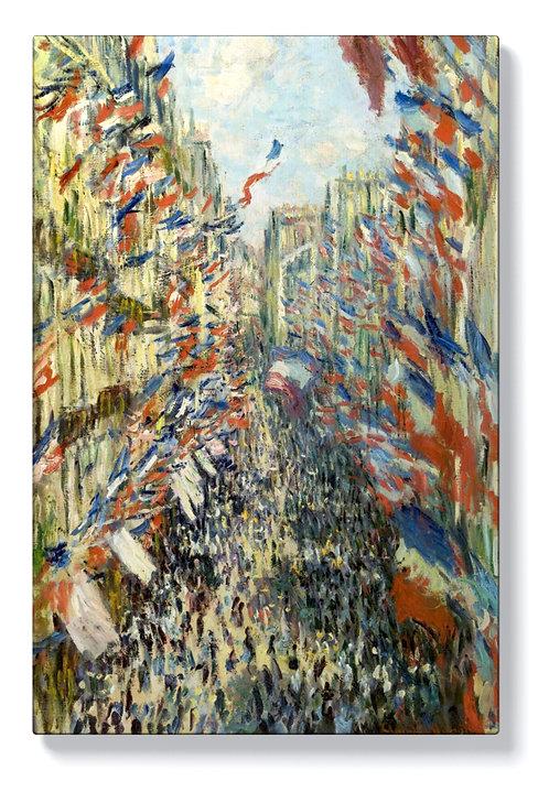Клод Моне - Рие Монгоргей в Париж
