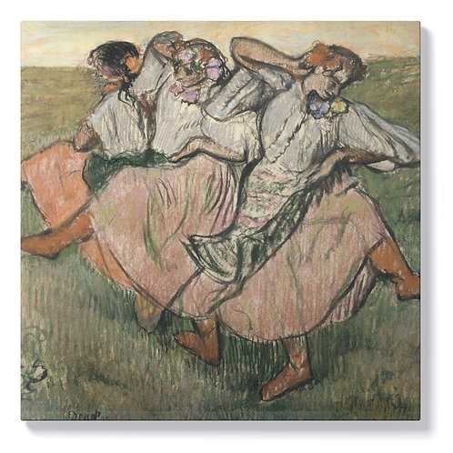 Едгар Дега - Руски танцьори