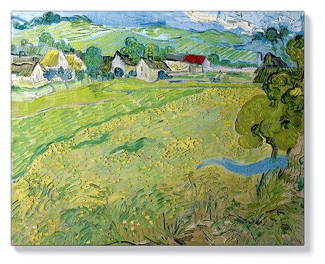 Ван Гог - Изглед на Весеноти в близост до Аверс