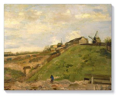 Ван Гог - хълмът на Монмартр с каменна кариера