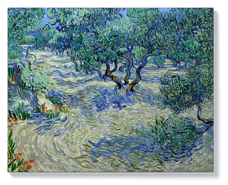 Ван Гог - Маслинова овощна градина