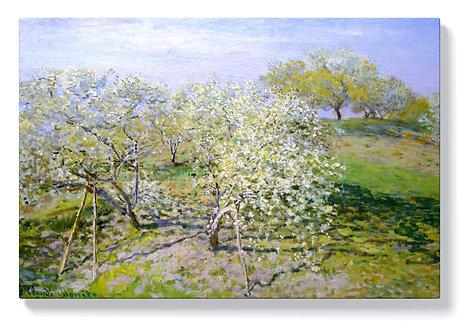 Клод Моне - Разцъфнали ябълкови дървета