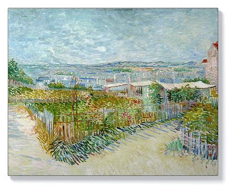 Ван Гог - Монмартър, зад Мулен де ла Галет