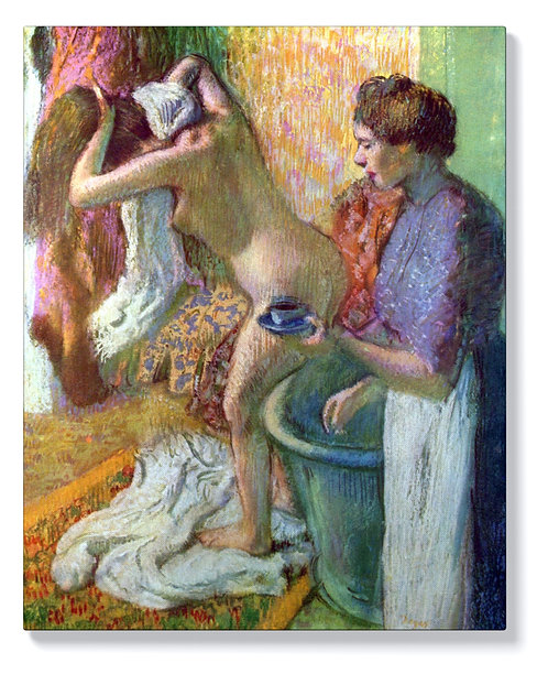 Едгар Дега - След къпане