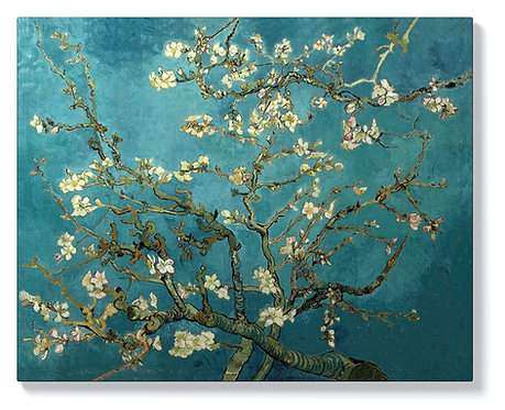 Ван Гог - Цъфнало бадемово дърво