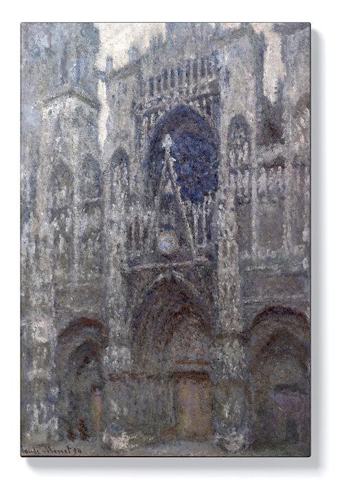 Клод Моне - Катедрала Руан, сиво време