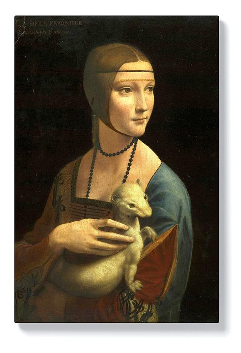 Леонардо да Винчи - Дамата с хермелина