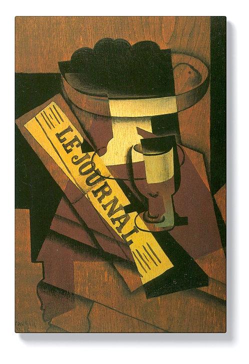 Хуан Грис - Фруктиера, чаша и вестник