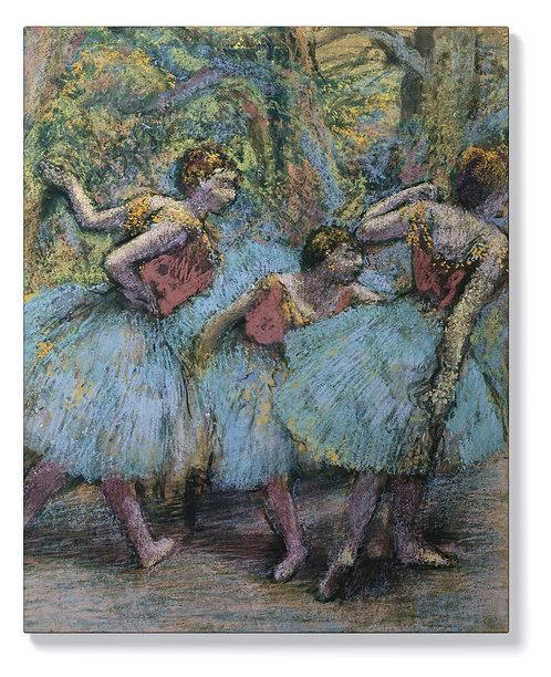 Едгар Дега - Три танцьорки