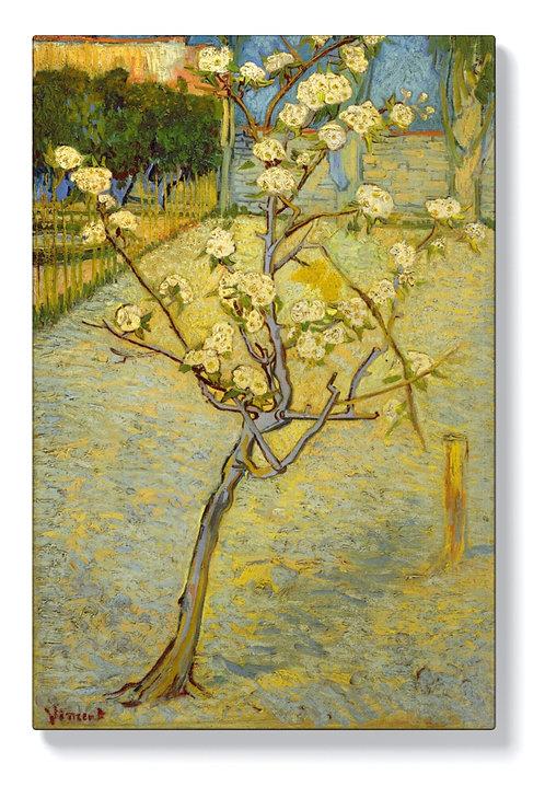 Ван Гог - Малко крушово дърво в цвят