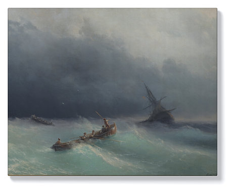 Иван Айвазовски - Буря в морето
