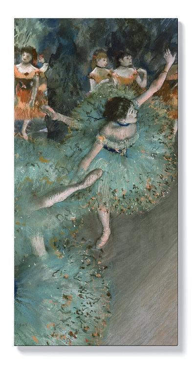 Едгар Дега - Танцьорка в зелено