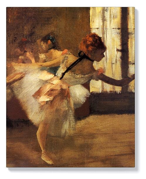 Едгар Дега - Репетиция на танцовия детайл