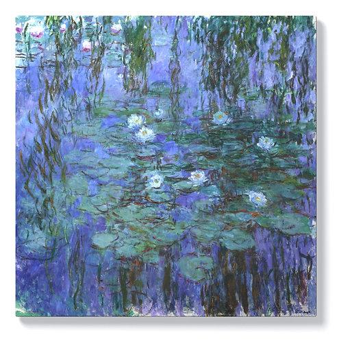 Клод Моне - Сини водни лилии