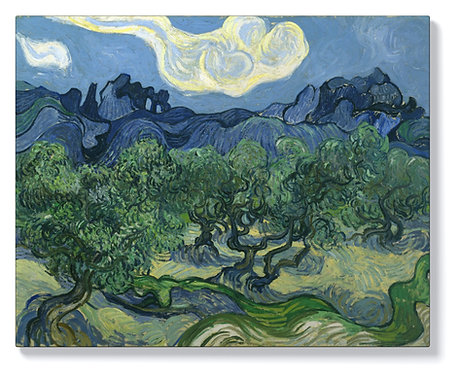 Винсент ван Гог - Маслинови дървета