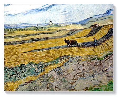 Ван Гог - Заградено поле с орач