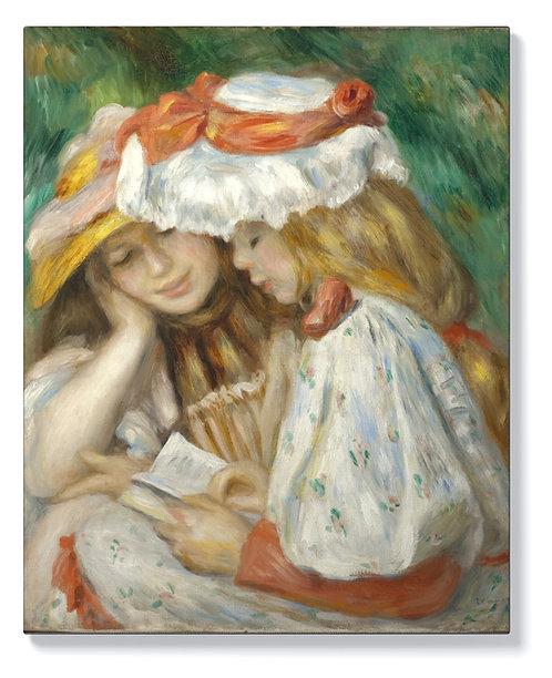 Пиер-Огюст Реноар - Две четящи момичета