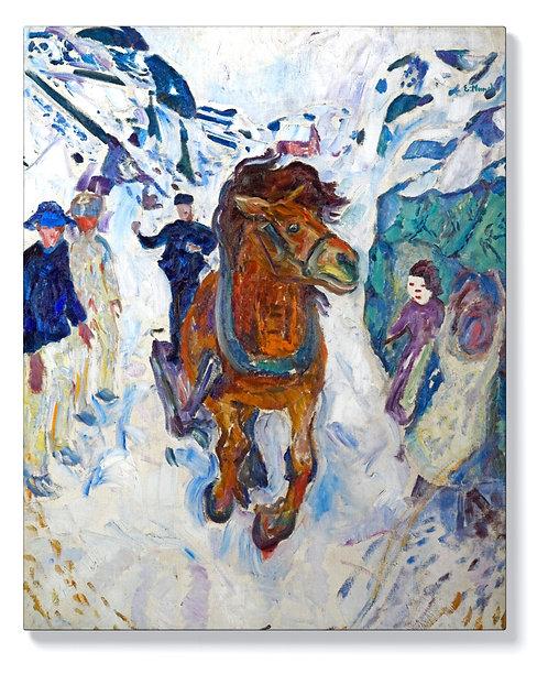 Едвард Мунк - Галопиращ кон
