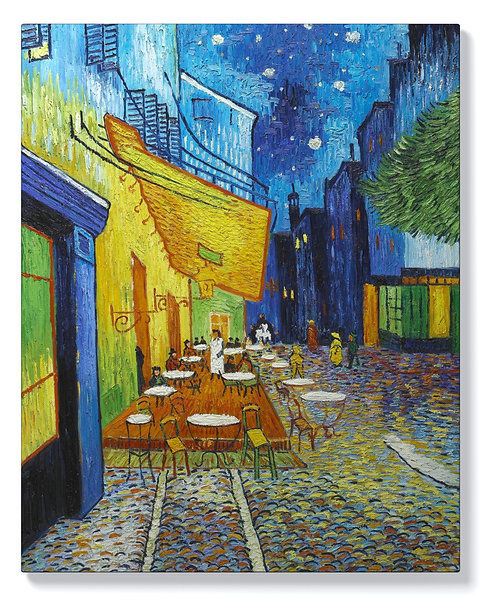 Винсент ван Гог - Kафе-тераса