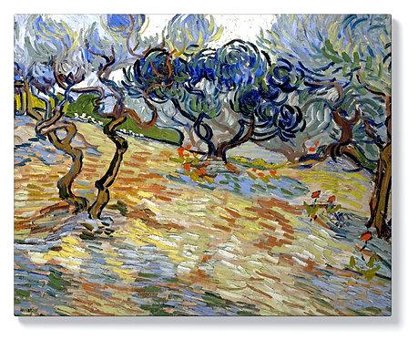 Ван Гог - Маслинови дървета