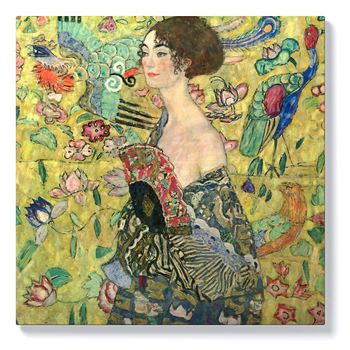 Густав Климт - Жена с ветрило