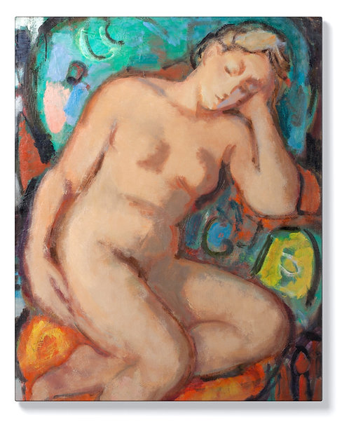 Вера Недкова - Спяща гола жена