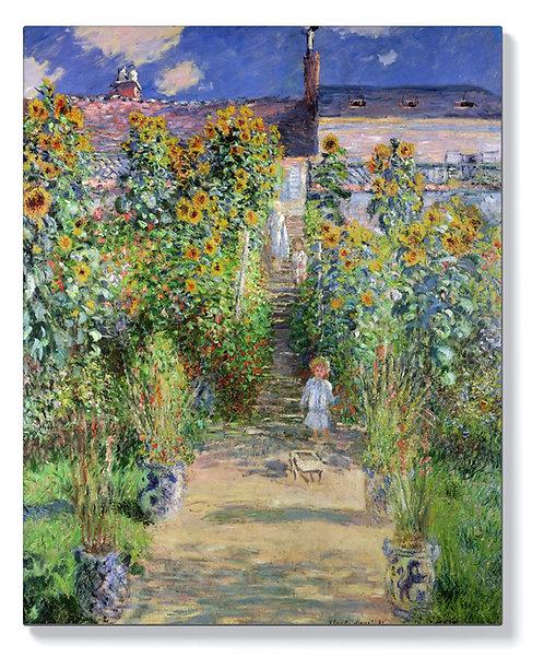 Едуар Мане – Градината на Моне във Ветил