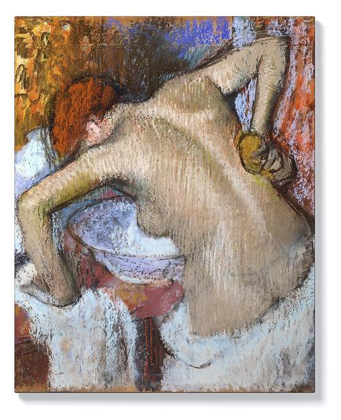 Едгар Дега - Жена бършеща гърба си