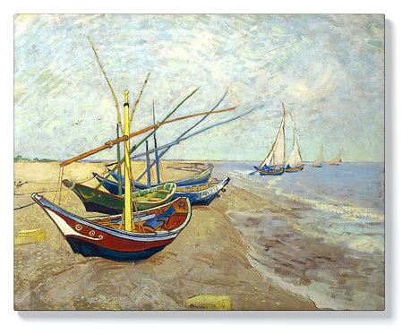 Ван Гог - Рибарски лодки в Сент Мари