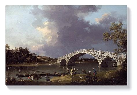 Каналето - Старият мост Уолтън