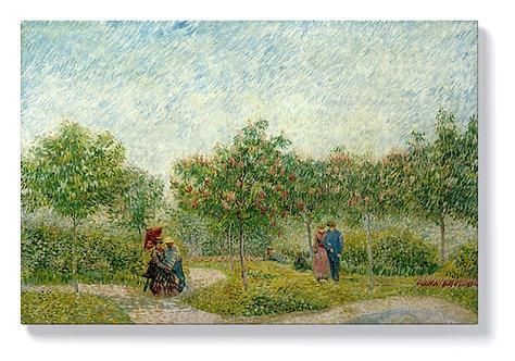 Ван Гог - Градина с любовници в Монмартър