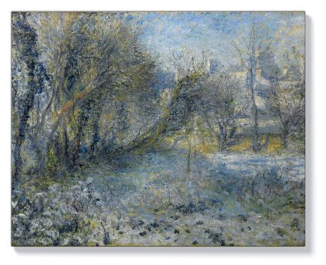 Реноар - Снежен пейзаж