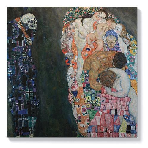 Густав Климт - Животът и смъртта