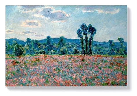 Клод Моне - Маково поле в Живерни