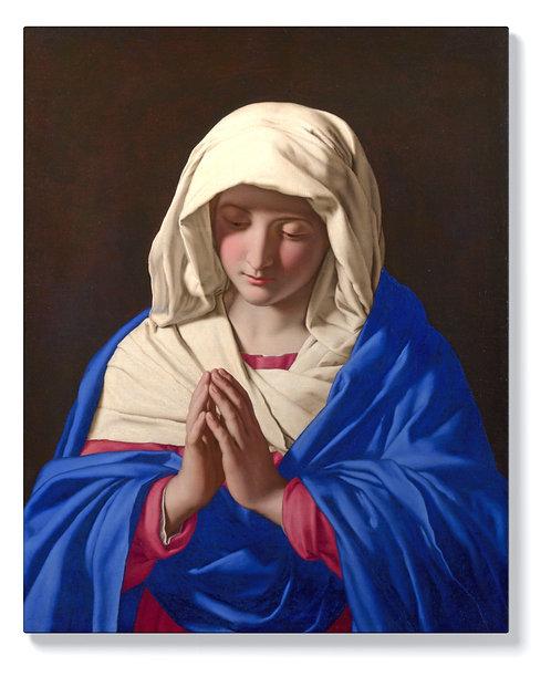 Сасоферато – Дева Мария в молитва