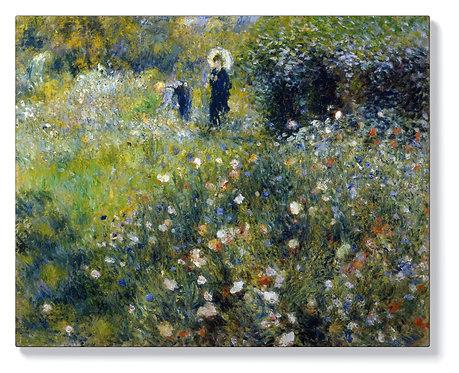 Реноар - Жена с дете в градината