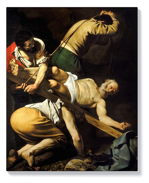Караваджо - Разпятието на Св. Петър