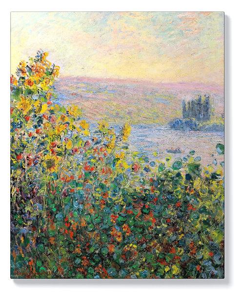 Клод Моне - Цветни лехи във Ветей
