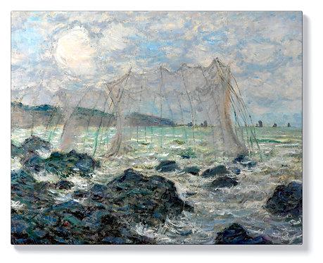 Клод Моне - Риболовни мрежи в Пурвил