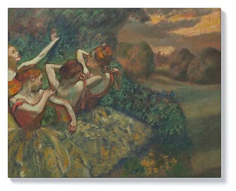 Едгар Дега - Четири танцьорки