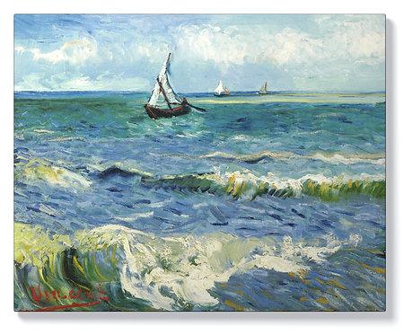 Ван Гог - Морски пейзаж до Сент Мари