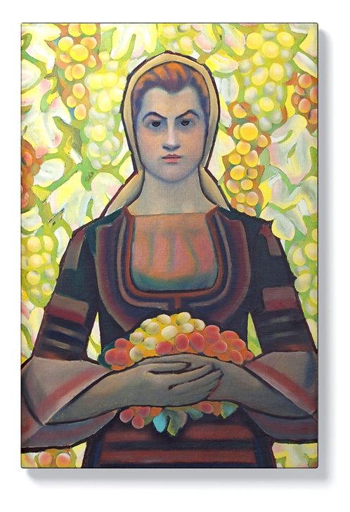 Владимир Димитров - Майстора - Млада жена с грозде